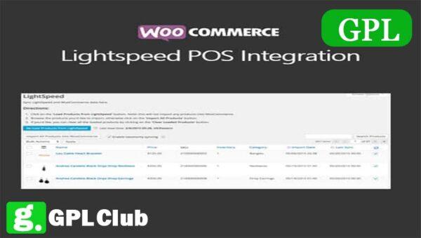 WooCommerce Lightspeed POS Integration 1.9.7